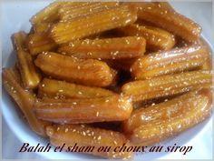 C'est une recette de Chef Oussama qui me vient du blog Couscous et pudding, je l'avais testé pendant le Ramadan mais je n'ai pas pû la poster avant. On peut bien sûr les faire à tout moment de l'année. Ces petits choux sont à déguster le jour même, quand...