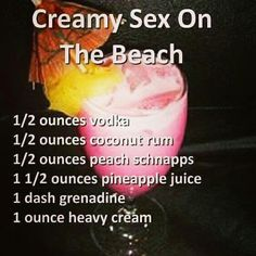Sounds Sexy....Tastes Even Better!