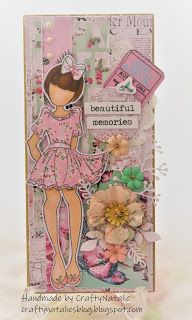 CraftyNatalie's Blog!: Prima Doll Plaque July 17, April 11, The 5th Of November, Fox Images, 8th Anniversary, Dolls, Blog, Puppet, Doll
