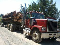 Logging Trucks On Pinterest Peterbilt Trucks And Logs