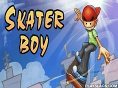 Skater Boy  Android Game - playslack.com , a compelling passageway in which you should direct a gleeful male in a chromatic headdress who dissects on different hindrances on the board.  move out different ruses   steer, speed, jump through hindrances, or strive to leader an arduous trickery in the air.  Control system is very clear and uncomplicated also is carried out only by 2 fingers.  In the game there re more than 90 levels, and each with its features.