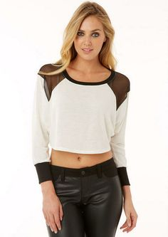 Kim Crop Top - Knit Tops - What's New - Alloy Apparel