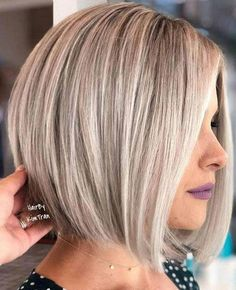 Bob Hair Styles With Fringe 2020 50 Blonde Bob Hairstyles 2018 2019 Bob Hairstyles 2018, Best Bob Haircuts, Stacked Bob Hairstyles, Blonde Bob Hairstyles, Bob Haircuts For Women, Bob Hairstyles For Fine Hair, Short Hairstyles For Women, Wedding Hairstyles, Layer Haircuts