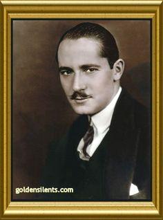 silent+film+stars | Norman Kerry, Silent Film Star, Colorized by goldensilents.com