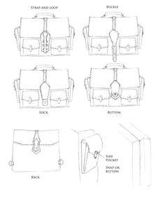 messenger bag illustrations - Google Search