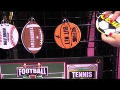New Sports & Graduation Die Cuts - Paper Wizard - CHA Winter 2016 Video