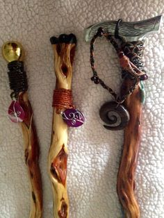 Diamond Willow Walking Sticks/Canes. Nature in by CynfulEssentials