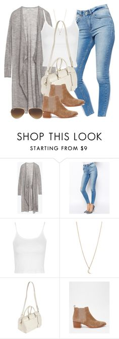 """Style #10033"" by vany-alvarado ❤ liked on Polyvore featuring Zara, ASOS, Topshop, Minor Obsessions, Yves Saint Laurent, Vagabond and Ray-Ban"