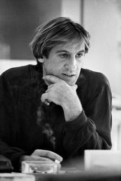 Gérard Depardieu par Nicolas Tikhomiroff 1983