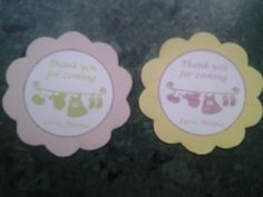 Gift Tags for Baby showers