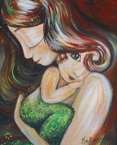Mermaid.....and starfish @theprivatepixie