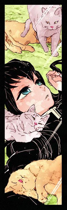 Kimetsu no yaiba Doujinshi + fan art + …. Manga Anime, Anime Demon, Anime Art, Demon Slayer, Slayer Anime, Kawaii, Skin Palette, Cute Anime Pics, Noragami