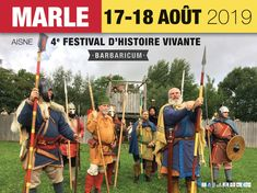 Re-enactors for the Frankish and Merovingian period (6th - 7th century AD)