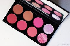 Make up revolution, blush and contour palette, sugar and spice, review, swatches