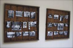 DIY: Photo Display Racks