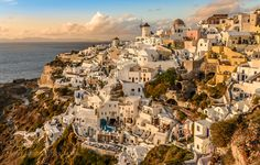 Sunset Santorini by leonwang886