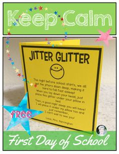 Mesmerizing image intended for jitter glitter poem printable