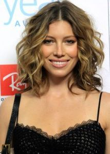 jessica biel wavy hair - Google Search