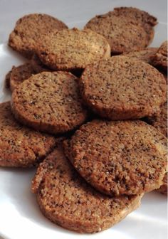 Healthy Cookies, Healthy Desserts, Healthy Recipes, Delicious Deserts, Yummy Food, Whole Wheat Cookies, Chia Recipe, Sugar Free Desserts, Cupcake Cookies