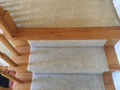 Cheater Trick for Getting Rid of Carpet Stairs