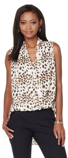 Leopard is the perfect print for all of our fashionistas out there! Pair with denim, black, leather and so much more for a fun look that can be worn anywhere!