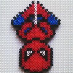 Spiderman perler beads by hadavedre