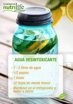 Si deseas desintoxicarte, te recomendamos una receta rápida y fácil para limpiar tu organismo. ¡Compártela!  #Desintoxicación Más recetas saludables aquí: http://cort.as/6iJ9