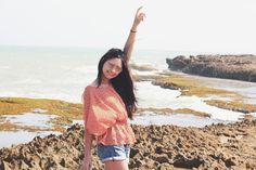 En el punto más al norte del sur en Venezuela  Si te perdiste por mi #snapchat la visita al Cabo San Román ya hay un post en el blog mostrando TODO lo que conocimos ese día. - In the northernmost point of the south at Venezuela  In case you missed our visit to Cabo San Román in my snapchat there's a new post on the blog about the whole place! (Link in bio)  #CaboSanRoman #FashionBlog #PuntoFijo #Michelleuzgoestofalcon #michelleuzgoestopuntofijo #michelleuzvoyages #Falcón #fashionblogger…