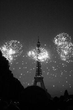 more bastille day fireworks at eiffel tower - paris by heatrebraid, via Flickr