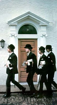 John Lennon, Paul McCartney, Richard Starkey, and George Harrison