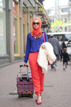 indahnadapuspita ♥ Muslimah fashion & hijab style