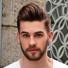 25 Best Pompadour Hairstyles & Haircuts For Men Guide) Trendy Mens Haircuts, Latest Haircuts, Cool Haircuts, Hairstyles Haircuts, Cool Hairstyles, Popular Hairstyles, Wedding Hairstyles, Modern Haircuts, Casual Hairstyles