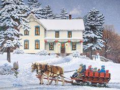 Let It Snow | John Sloane Art