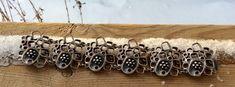 Vintage Bracelet #ModernistJewelry #ChunkyBracelet #EstateJewelry #ModernBracelet #Bracelet #Brutalist #etsy #shopsmall