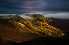 [  first light ] by RaymondHoffmann  landscape sunrise fog island light clouds nikon highlands workshop filter iceland fotoreise niceland