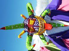 Vejigante mask on parade - Carnival, Ponce, Puerto Rico.