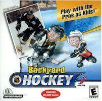 BRAND NEW Humongous Entertainment Backyard Hockey 30 Teams Included 8 Different Ice Rinks Award-Winning