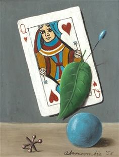 Queen of Hearts with Jack and Ball By Gertrude Abercrombie ,1955