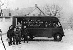 Missouri State Library Bookmobile