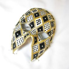 Rhinestone Masquerade Mask  Venetian Style  by BejeweledMasquerade, $145.00