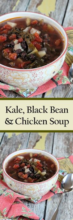 Kale Bean & Chicken Soup This kale bean & chicken soup is a hearty healthy meal.  The recipe is made on the stove top, but could readily be adapted to a slow cooker, as well. Now if you are a regular reader, you have been seeing a lot of beans on the blog lately, especially …