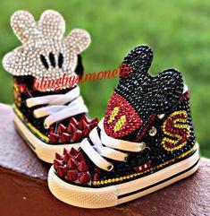 b8751bdcf909 Custom Mickey Mouse sneakers