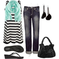 SuMmEr FuN, created by sarasmiles2o on Polyvore
