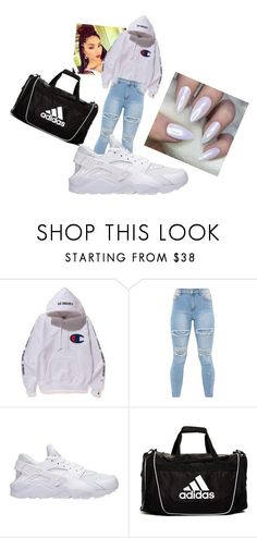 """school outfit"" by oumoudiallo2777 ❤ liked on Polyvore featuring NIKE and adidas"
