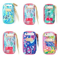 Lilly carded ID wristlet