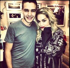 Rita Ora with Liam