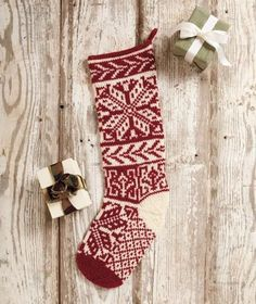 Modern Classics Stockings - Knitting Patterns and Crochet Patterns from KnitPicks.com