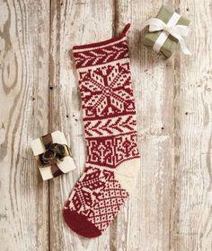 Modern Classics Stockings - Knitting Patterns and Crochet Patterns from KnitPicks.com