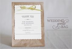 GG's tiny times <3 DIY Vintage Wedding Favors  ♥ Handmade Vintage Gift Bag
