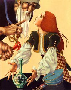 Leo and Diane Dillon   ILLUSTRATION | The Sorcerer's Apprentice